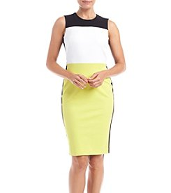 Calvin Klein Petites' Color Block Sheath Dress
