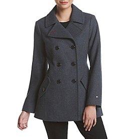 Tommy Hilfiger® Notch Collar Peacoat