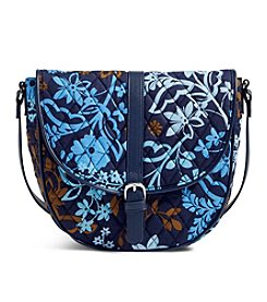 Vera Bradley® Slim Saddle Bag