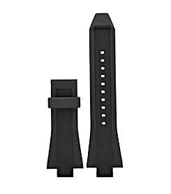 Michael Kors® Access Men's Dylan Black Silicone Strap