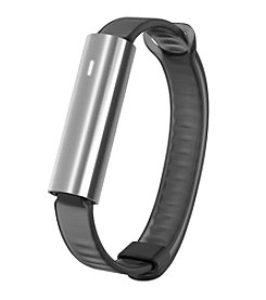 Misfit Ray™ Stainless Steel With Black Sport Band Tracker
