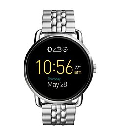 Fossil® Q Wander Touchscreen With Link Bracelet Smart Watch