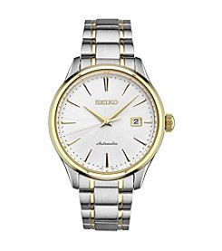 Seiko Men's Automatic Two Tone Watch
