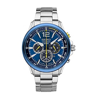 Seiko® Jimmie Johnson Special Edition Solar Chronograph