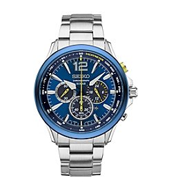 Seiko® Jimmie Johnson Special Edition Solar Chronograph Watch