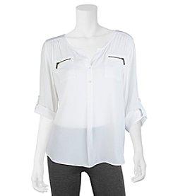 A. Byer Zip Pocket Utility Shirt