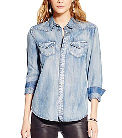Jessica Simpson Pixie Classic Denim Shirt