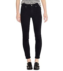 Levi's® Soft Black 721 High Rise Skinny Jeans