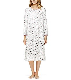 Aria® Printed Flannel Night Gown