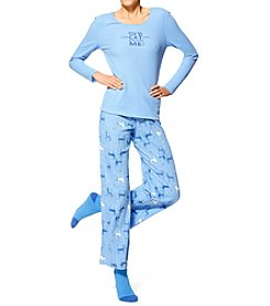 HUE® Socks And Pajamas Set