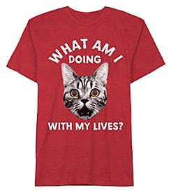 Jem® Boys' 8-20 Short Sleeve What Am I Doing Tee
