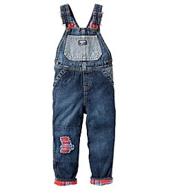 OshKosh B'Gosh® Boys' 2T-4T Patched Overalls
