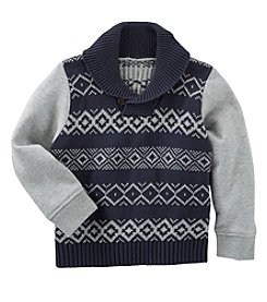OshKosh B'Gosh® Boys' 2T-7 Shawl Collar Sweater