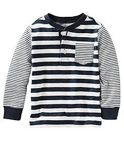 OshKosh B'Gosh® Boys' 2T-4T Long Sleeve Striped Henley