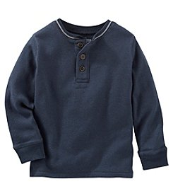 OshKosh B'Gosh® Boys' 2T-4T Long Sleeve Henley