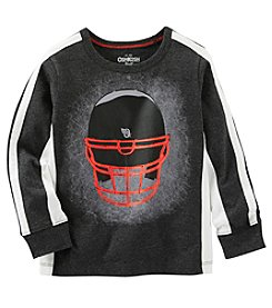 OshKosh B'Gosh® Boys' 2T-7 Long Sleeve Football Helmet Tee