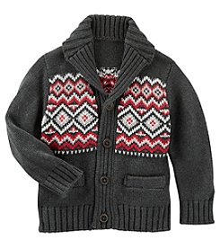 OshKosh B'Gosh® Boys' 2T-7 Shawl Collar Cardigan
