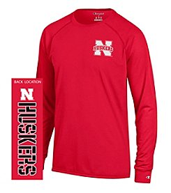 Champion® NCAA® Nebraska Cornhuskers Men's Team Long Sleeve Tee