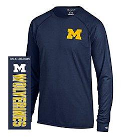 Champion® NCAA® Michigan Wolverines Men's Team Long Sleeve Tee