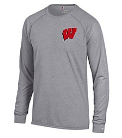 Champion® NCAA® Wisconsin Badgers Men's Team Long Sleeve Tee