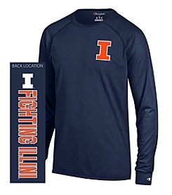 Champion® NCAA® Men's University of Illinois at Urbana-Champaign Fighting Illini Team Long Sleeve Tee