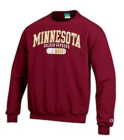 Champion® NCAA® Minnesota Golden Gophers Men's Team Crew Neck Sweatshirt