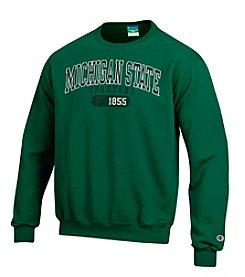 Champion® NCAA® Michigan State Spartans Men's Team Crew Neck Sweatshirt