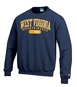 Champion® NCAA® West Virginia Mountaineers Men's Team Crew Neck Sweatshirt