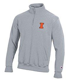 Champion® NCAA® Illinois Fighting Illini Men's 1/4 Zip Pullover