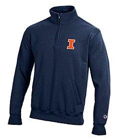 Champion® NCAA® Illinois Fighting Illini Men's Team 1/4 Zip Pullover