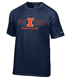 Champion® NCAA® Illinois Fighting Illini Men's Short Sleeve Tee