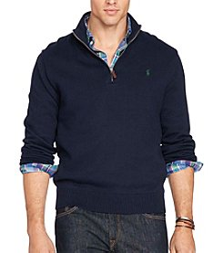 Polo Ralph Lauren® Men's Big & Tall Cotton 1/2 Zip Sweater