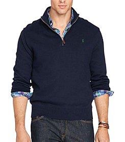 Polo Ralph Lauren® Men's Big & Tall Cotton 1/2 Zip Sweater