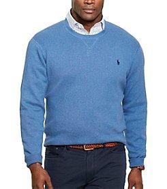 Polo Ralph Lauren® Men's Big & Tall Cotton Crew Neck Sweater