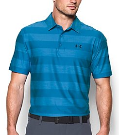 Under Armour® Men's Stripe Playoff Short Sleeve Polo