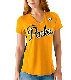 G III NFL® Green Bay Packers Women's Cutback Tee