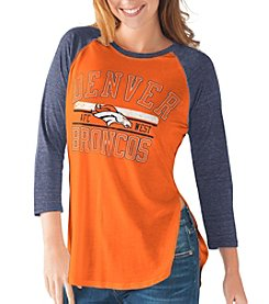 G III NFL® Denver Broncos Women's Hang Time Tee