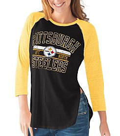 G III NFL® Pittsburgh Steelers Women's Hang Time Tee