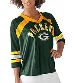 G III NFL® Green Bay Packers Women's Blitz Jersey Tee