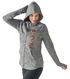 G III NFL® Cincinnati Bengals Women's Recovery Full Zip Performance Hoodie