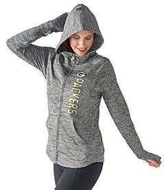 G III NFL® Green Bay Packers Women's Recovery Full Zip Performance Hoodie