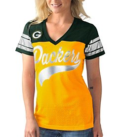 G III NFL® Green Bay Packers Women's Pass Rush Mesh Tee