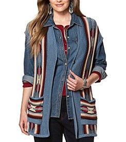 Chaps® Plus Size Patterned Sweater Vest