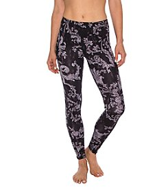Betsey Johnson® Performance Royal Printed Leggings