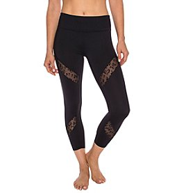 Betsey Johnson® Performance Leopard Peekaboo Leggings