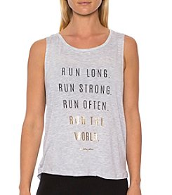 Betsey Johnson® Performance Run Tank