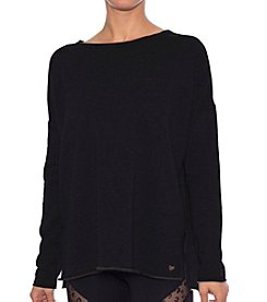 Betsey Johnson® Performance Split Hem Pullover