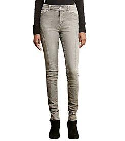 Lauren Ralph Lauren® Stretch Skinny Moto Jeans