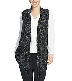 Chaus Eyelash Snit Vest