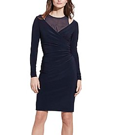 Lauren Ralph Lauren® Cutout Jersey Dress